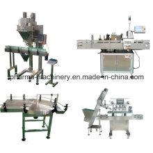 Powder Filling & Cap Sealing Production Line