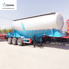 3 Axle 55cbm Bulk Cement Trailer