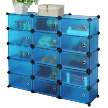 Heißer Verkauf 15 Cubes Plastic Functional Storage Cabinet