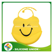 factory price high quality rubber baby bib