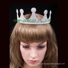 Corona de cumpleaños corona linda rhinestone boda princesa tiara
