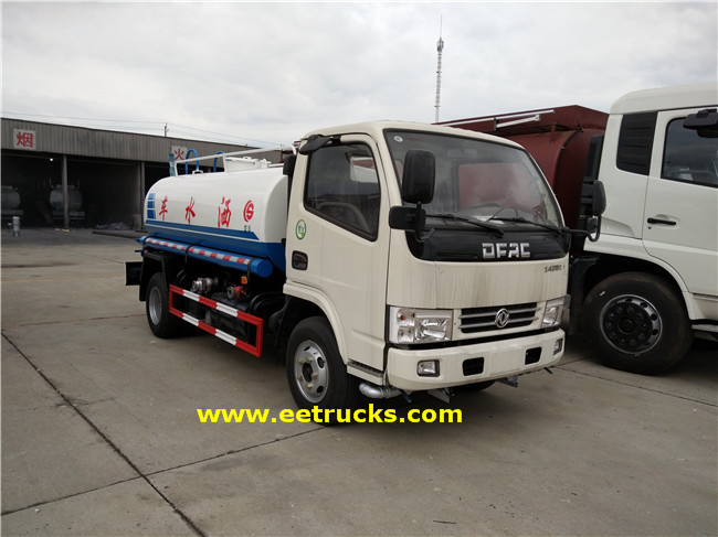 Dongfeng Water Sprinkler Bowsers