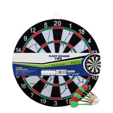 17 inch dart board with 6 darts