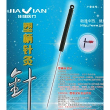 Acupuncture Needle with Conductive Handle
