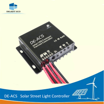 DELIGHT DE-ACS MC4 Connector 12V/24V Solar Charge Controller