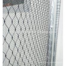 304 Edelstahldraht Seil Zoo Mesh Tier gewebte Gehäuse Mesh Dekor Seil Mesh