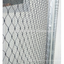 304 stainless steel wire rope zoo mesh animal woven enclosure mesh decor rope mesh
