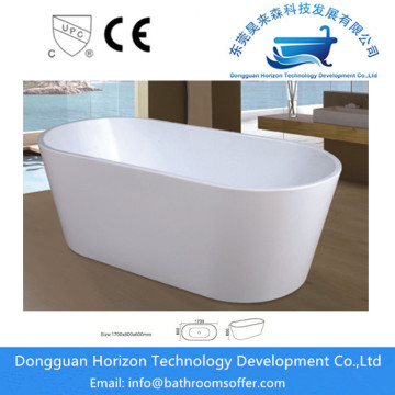 Modern ellipse luxury acrylic  bathtub