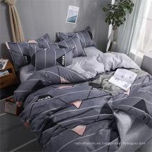 Juegos de cama con estampado de microfibra 100% poliéster