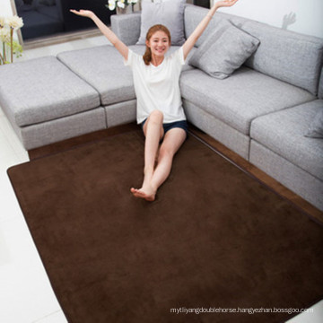 memory foam shaggy carpet rug for living room