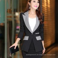Fashion Abnehmen Plus Größe Business Frauen Formelle Anzüge (50020)