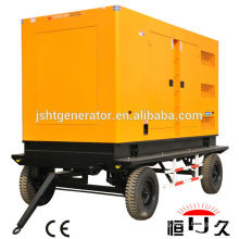 China manufacturers brand YUCHAI brand 30KW/ 40KVA diesel generator set mobile type price( 30KW~660KW)
