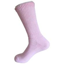 Halbe Kissen Sorbtek Coolmax Diabetische Gesundheitspflege Medizinische rosa Socken (JMDB04)