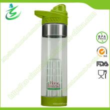 24 Unzen Hochwertige Tritan Frucht-Infusionsflasche mit kundenspezifischem Logo