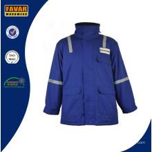 Veste imperméable de vêtements de travail thermique