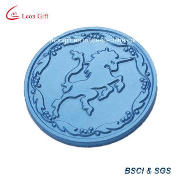 Unique Unicorn Blue Souvenir Coin