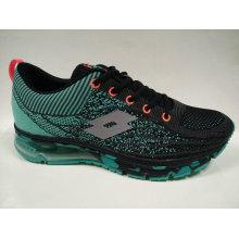 4 Farben-Qualitäts-Männer strickende Schuhe im Freien Sneakes
