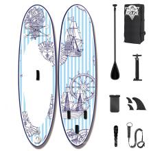 Superior New design Professional paddle surf board inflatable stand up inflatable paddle board with safty leash