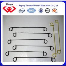 Función de alambre de encuadernación y lazo de lazo Tipo de alambre cable de resorte de algodón