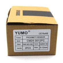 Yumo Cm24-3012PC Näherungsschalter Optischer Induktiver Näherungssensor Kapazitiver Sensor