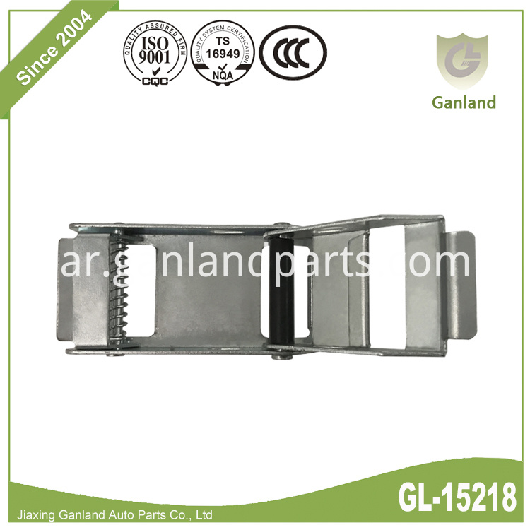 Steel Over Centre Buckle GL-15218