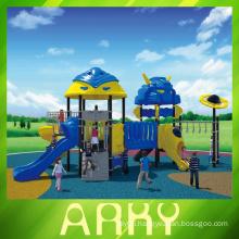 Robot unique slide rings sport small cheaper kids playground
