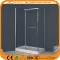 Square Tray 5mm Glass Shower Cabin (ADL-8028)