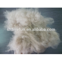 Hot sale Dehaired Chinese natural brown goat cashmere fibre with SGS