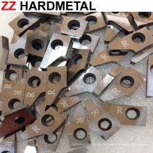 Kundenspezifische Yg6X Hochhärte Wolframkarbid Holzbearbeitung Schneidwerkzeug