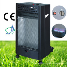 Mobile Bedroom Indoor Black Color Blue Flame Gas Heater