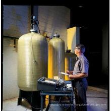Recipiente de tanque de presión FRP para filtro de agua