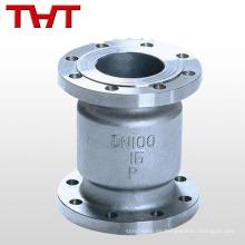 DN 150 2 oblea silenciosa tipo 3 4 agua en línea ss316 ss304 agua de la válvula de retención
