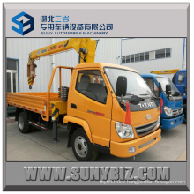 3.2t Dump Truck with Crane 4X2 Truck Mounted Crane