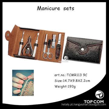 Kit de manicure profissional manicure utensílios para salão de beleza