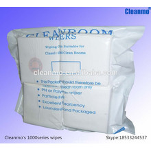 Manufacturer Cleanroom microfiber/100% polyester cleaning wipes with favorable price
