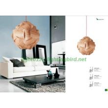modern wooden pendant lightings/nice new design pendant lamp