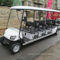 CVT Hot Sale 10-12 seats gas power golf cart with CE for sightseeing , golf course