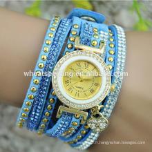 Nouvelle arrivée montres chinoises montres bracelets bracelet en cuir