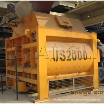 Js2000 (100-120m3/h) Electric Portable Concrete Mixer, Electric Motor Concrete Mixer, Concrete Mixer for Sale