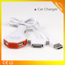 Mutil-interface USB Charger/ Male USB Phone Battery Chargers Used in Car WF-116