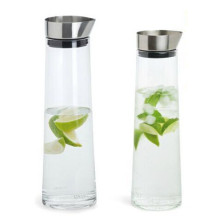 1L 1.5L Cold Water Bottle Borosilicate Glass Cold Water Kettle