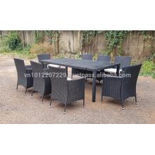 PE Poly Wicker Rattan Outdoor / Garden Furniture - Cube set