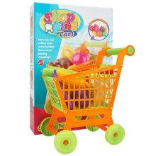 Детская корзина с овощным набором игрушек