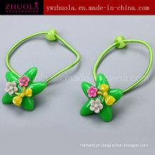 Moda ornamentos de cabelo com flores para as mulheres