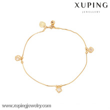 73924-Xuping Jewelry Fashion Hot Sale Generous Woman Bracelet with 18k Gold Plated