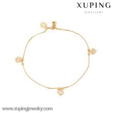 73924-Xuping ювелирные изделия мода горячая Распродажа щедрая женщина браслет с 18k позолоченный