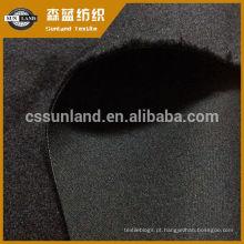 impermeável à prova de vento respirável TPU bond poliéster soft shell tecido de lã