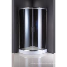 Recinto de la ducha de las mercancías sanitarias Puertas deslizantes de cristal moderadas