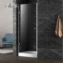 Flat Popular Used Single Shower Glass Door For Dealer