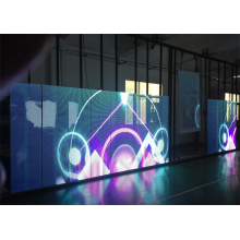 Windows Showcase Mesh Curtain LED videoscherm
